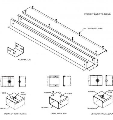 Cable Trunking & Accessories